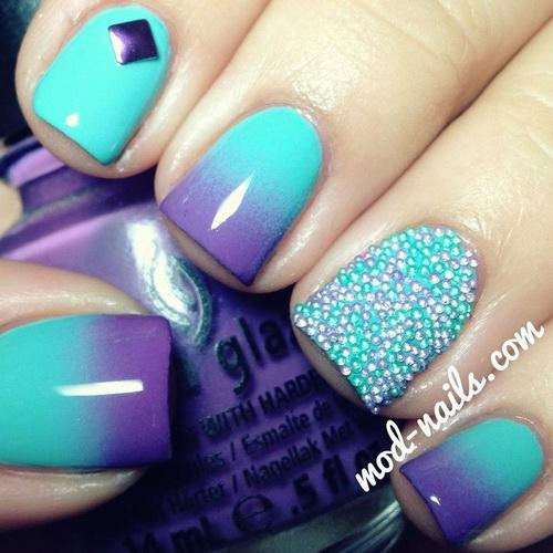 2ba5bfb1a0e7e1752a9f9255aa8cbf2f The most beautiful nails designs 2014