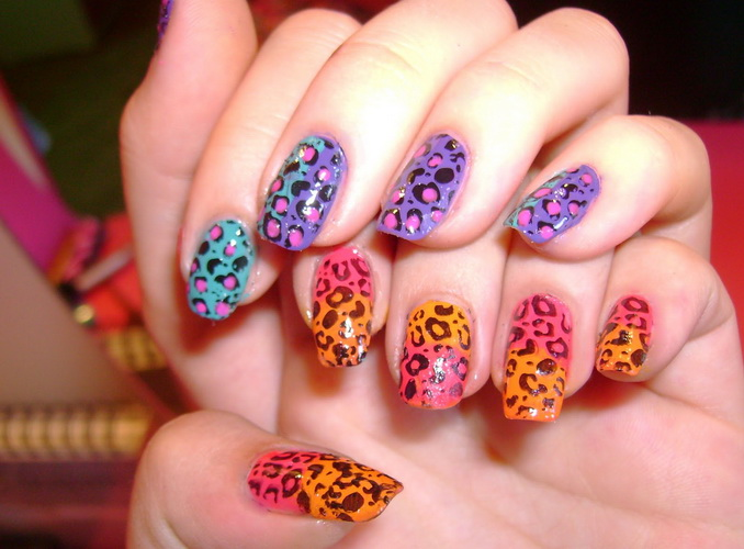 Nail designs animal print Nail designs animal print