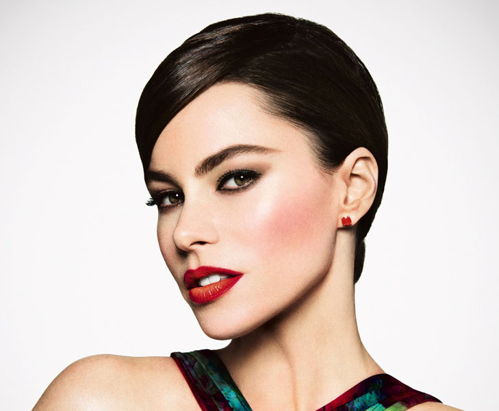 Sofia-Vergara makeup for brown eyes