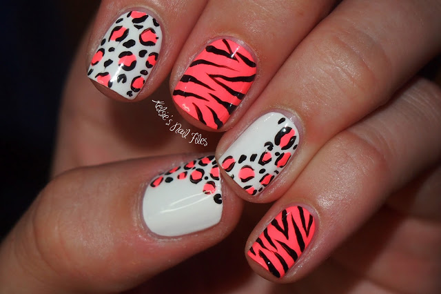 animal print nail art designs Nail designs animal print