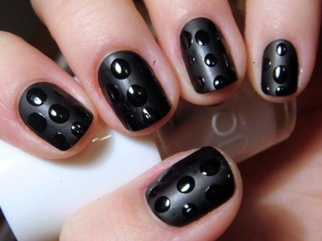 black short nails 20 nails designs for short nails