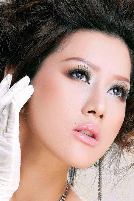 bride makeup How to make a wedding makeup