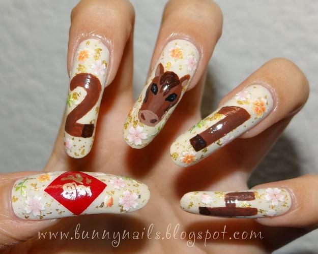chinese nail designs New Year's nail designs