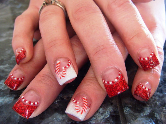 christmas nails designs Nail designs for Christmas