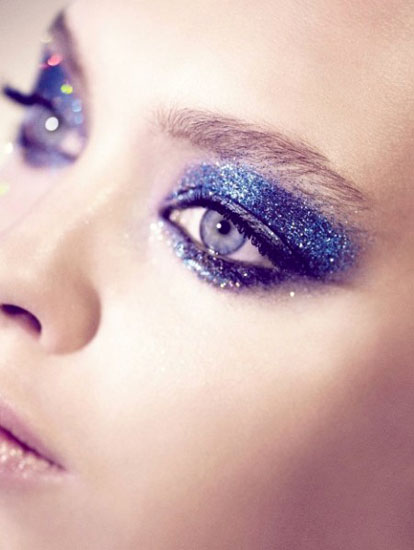 cool makeup ideas for blue eyes