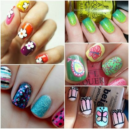 how to make cute nail designs at home  yvestyle