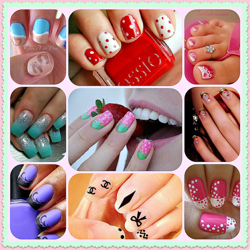 cute nail designs at home