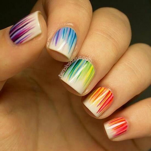 How to make cute nail designs at home yve Cool nail design ideas at home