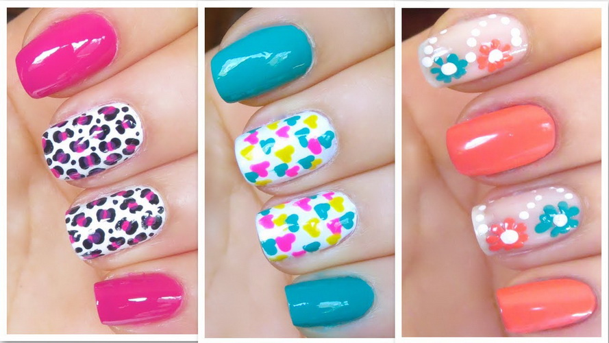 How To Make Cute Nail Designs At Home Yve Style