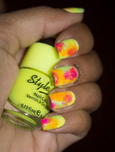 easy nail polish designs How to make cute nail designs at home