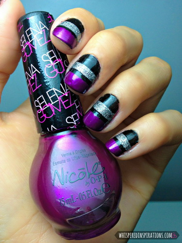 easy new years nail designs New Year's nail designs