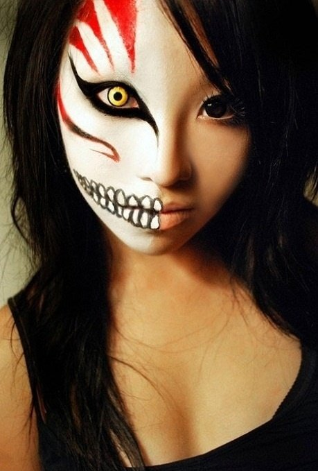 Halloween makeup - ideas and tutorial - yve-style.com