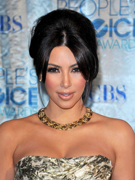 kim kardashian birthday makeup