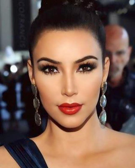 kim kardashian smokey eye makeup Kim Kardashian makeup   tips and tricks