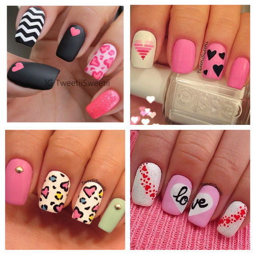 love acrylic nails art