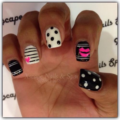 nail art designs How to make cute nail designs at home
