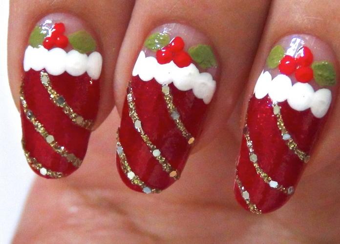 nail design for christmas Nail designs for Christmas