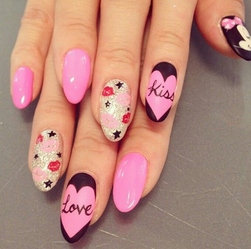 nail design ideas for new years New Year's nail designs