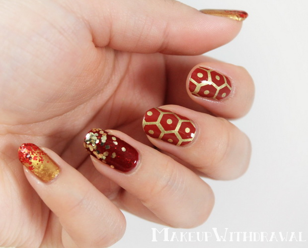 nail designs for new years eve New Year's nail designs
