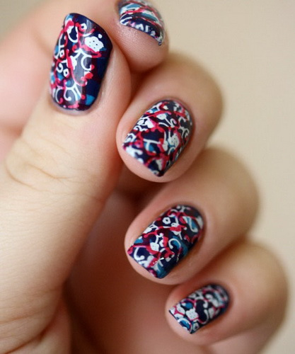 nail designs for the new year New Year's nail designs