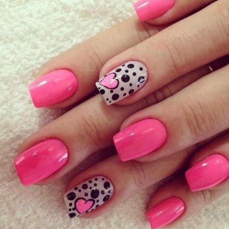 nail designs for valentines day - Nail Designs For Valentines Day