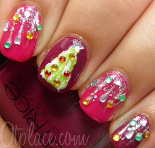 nails design for christmas Nail designs for Christmas