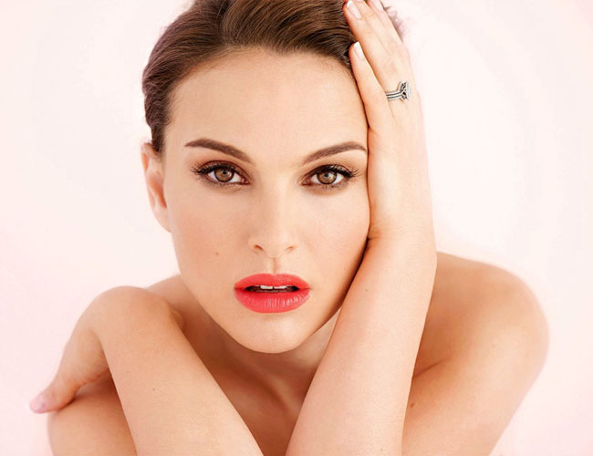 natalie-portman brown eyes makeup