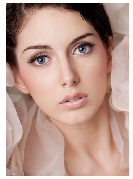 Natural Bridal Makeup For Blue Eyes : Natural Makeup For Blue Eyes - Makeup Vidalondon