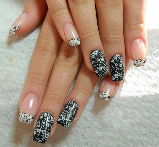 New Nail Style: New Year's Nail Designs