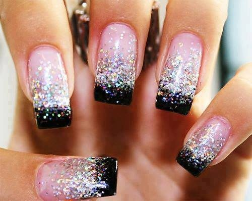 ... new year nail art design New Year's nail designs ... - New Year's Nail Designs - Yve-style.com