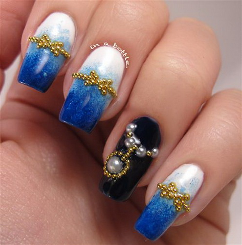 new years eve nail design ideas New Year's nail designs