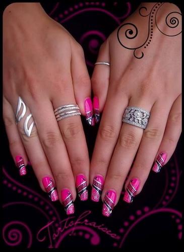 new years nail art designs New Year's nail designs