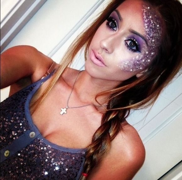 pretty halloween makeup Halloween makeup   ideas and tutorial