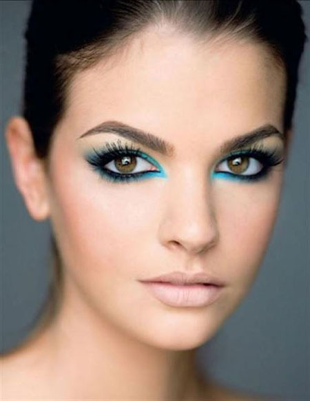 Makeup For Blue Eyes - Yve Style