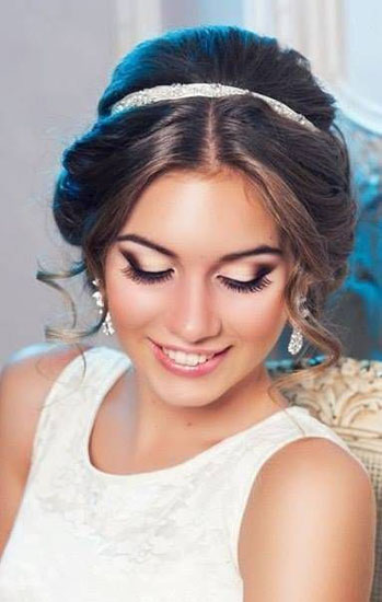 prom makeup smokey eyes