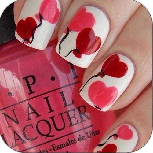 valentine nail designs picture