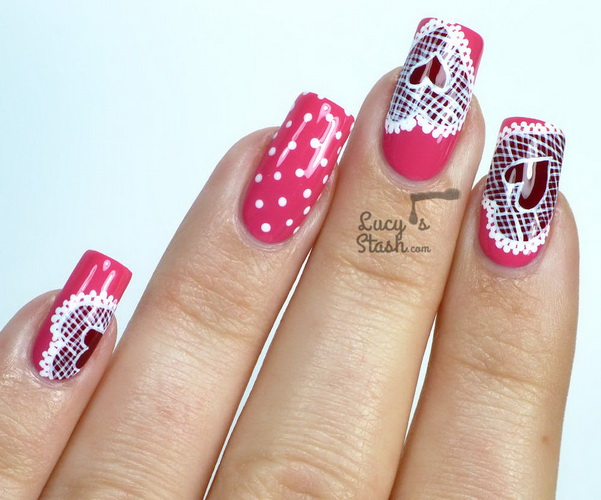 Nail designs for valentines