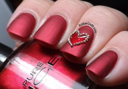 Nail Designs For Valentines Yve Style