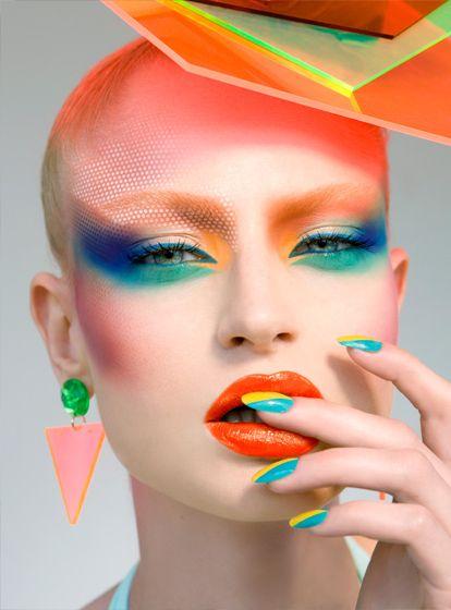 80s makeup tutorial - how to do 80s makeup - yve-style.com