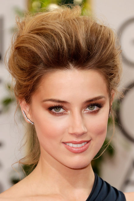 Amber-Heard makeup ideas