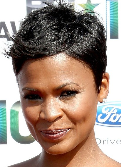 Black hairstyles Cute pixie cuts