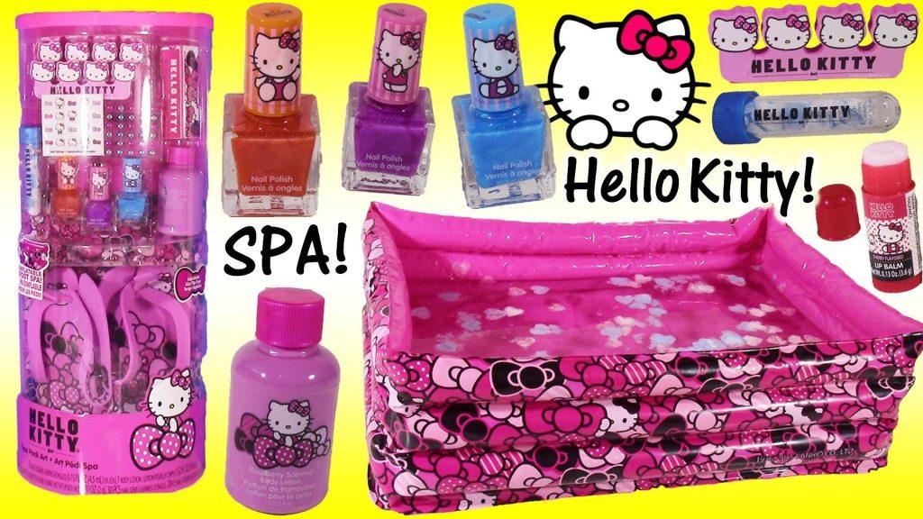 Hello Kitty nails kit