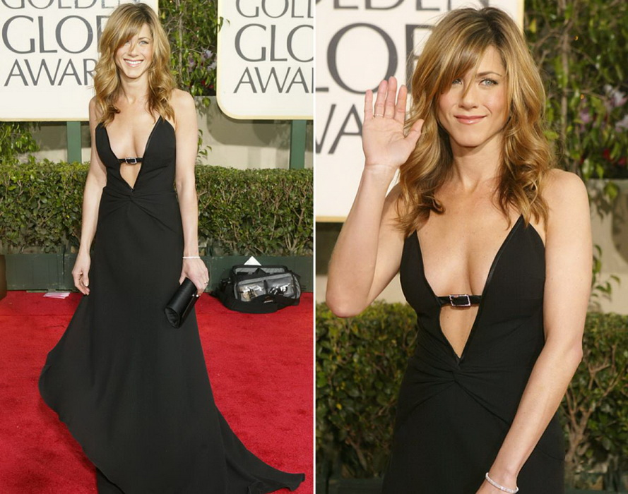 Jennifer Aniston hairstyle for medium hair