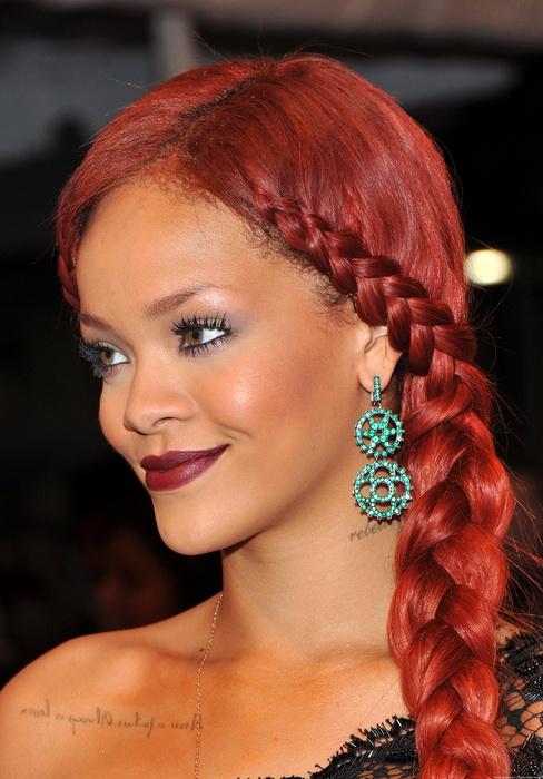 Rihanna Braided hairstyles 20 Best New Braided hairstyles