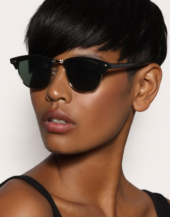 black short hairstyles