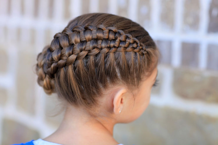 Cute Braided Bun Hairstyles For Short Hair : Top cute girl hairstyles for school yve style