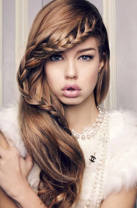 Brilliant Top 10 Cute Girl Hairstyles For School Yve Style Com Hairstyles For Men Maxibearus