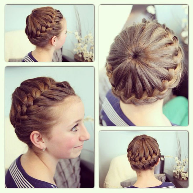 cute girls hairstyle