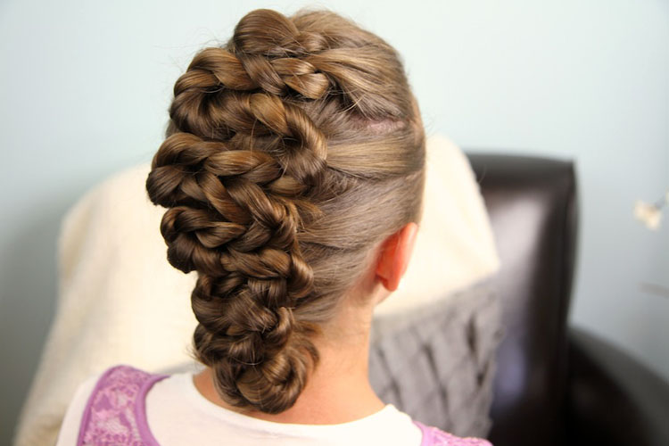 Cute Easter Hairstyles For Brief Hair