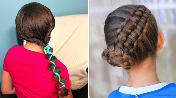 Top 10 Cute Girl Hairstyles For School